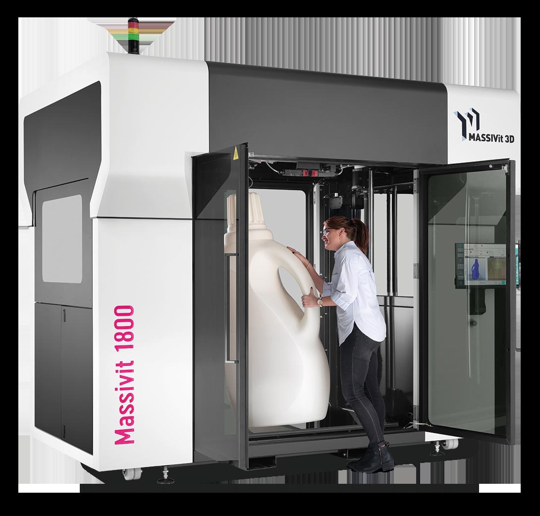 Imprimante 3D grand format Massivit 1800
