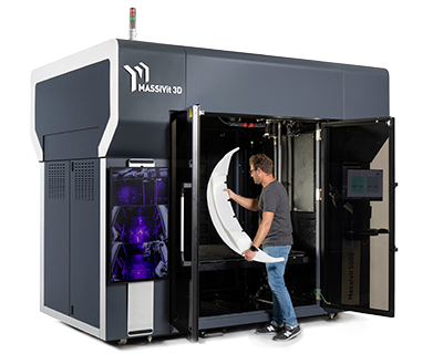 Imprimante 3D grand format Massivit 5000